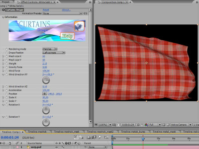 Curtains for AfterEffects Windows 1.5 screenshot