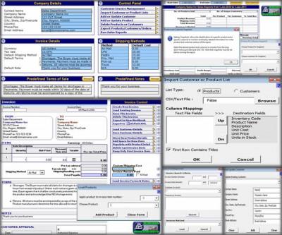 Customer Invoice Template 2.0 screenshot