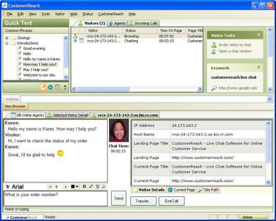 CustomerReach 3.0 screenshot