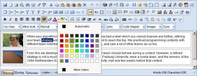 Cute Editor for ASP 6.6 screenshot