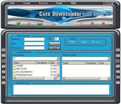 CuteDownloader 7.3.3.3000 screenshot