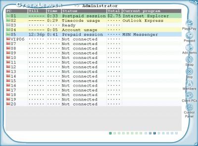 CyberLeader - Internet Cafe Software 4.0 screenshot