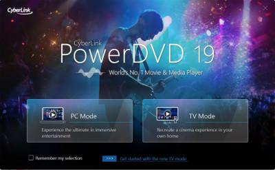 CyberLink PowerDVD 19.0.2403.62 screenshot