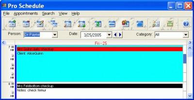 CyberMatrix Pro Schedule 6.00 screenshot