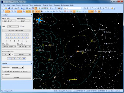 CyberSky 5.1.2 screenshot