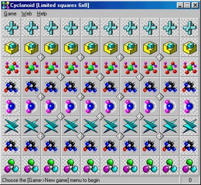Cyclanoid 8.3993 screenshot
