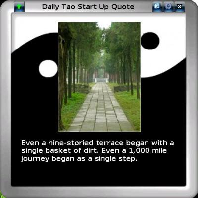 Daily Tao Quote 3.0 screenshot