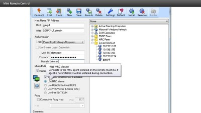 DameWare Mini Remote Control 9.0.1 screenshot