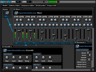 DarkWave Studio 5.7.7 screenshot