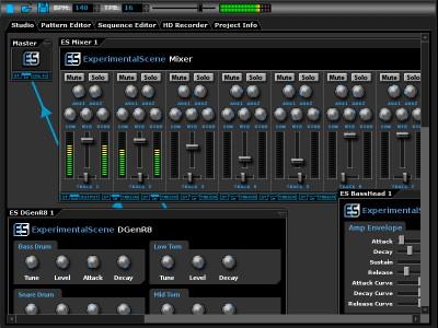 DarkWave Studio 5.9.3 screenshot