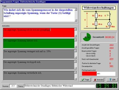 Das LernSpiel - Elektrotechnik 2006.1.1.2 screenshot