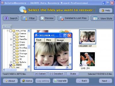 Data Recovery Wizard Professional 3.05 screenshot