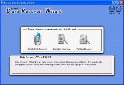 Data Recovery Wizard 343 screenshot