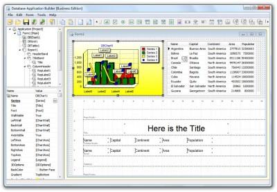 Database Application Builder Free 2.4 screenshot