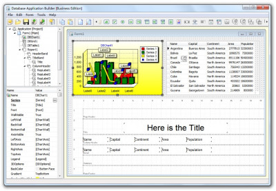 Database Application Builder 4.0 screenshot