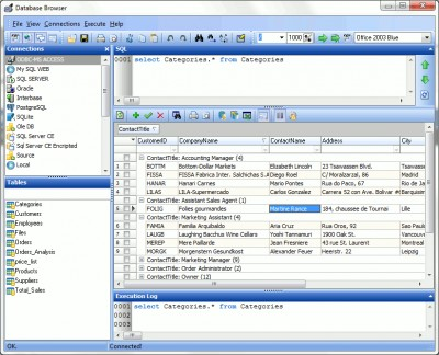 Database Browser 5.3.2.13 screenshot