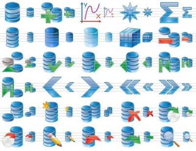 Database Icon Set 2013.1 screenshot