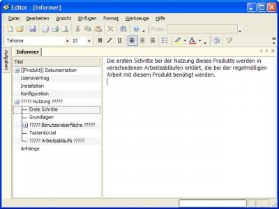 Dataconomy Editor Standard Edition 1.0 screenshot