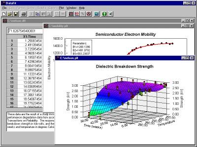 DataFit 9.0 screenshot