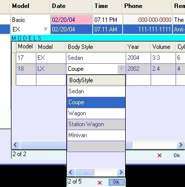 DataGridView Columns .NET assembly 2.0.6 screenshot