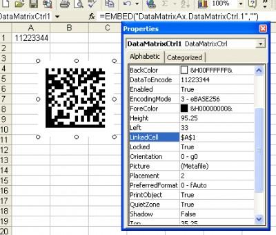 DataMatrix BarCode ActiveX 3.1 screenshot