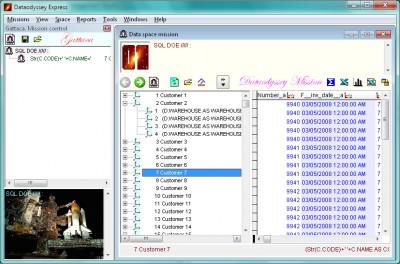 Dataodyssey Express 2.0.21 screenshot