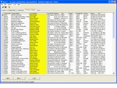 DataPipe 3.6 screenshot