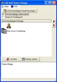 Daten-Ablage 1.0 screenshot