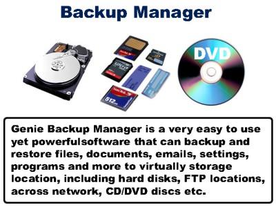 DB BACKUP MANAGER 2011.1105 screenshot