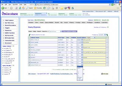 DB Cruiser 6.0.1 screenshot