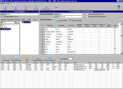 DB Maker 3.50 screenshot
