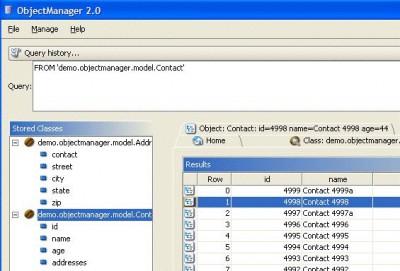 db4o for Mono 6.4 screenshot