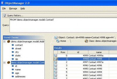 db4o 8.0 screenshot