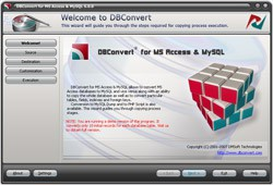 DBConvert for Access & MySQL 6.0.0 screenshot