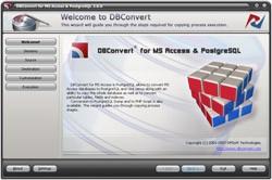 DBConvert for Access & PostgreSQL 2.0.0 screenshot