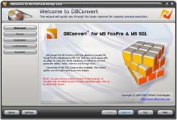 DBConvert for FoxPro & MSSQL 2.0.2 screenshot