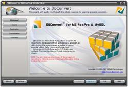 DBConvert for FoxPro & MySQL 2.1.0 screenshot