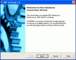 DBF-to-Oracle 3.1 screenshot