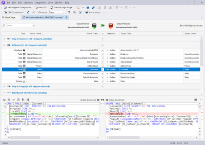 dbForge Schema Compare for SQL Server 4.5 screenshot
