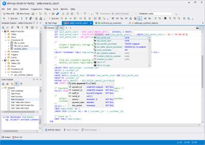 dbForge Studio Express for MySQL 8.1 screenshot