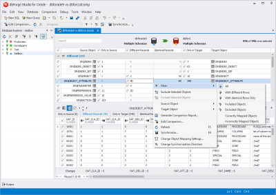 dbForge Studio for Oracle 4.1 screenshot
