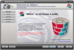 DBSync for Access & MySQL 5.0 screenshot