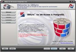 DBSync for MS Access & PostgreSQL 2.0 screenshot