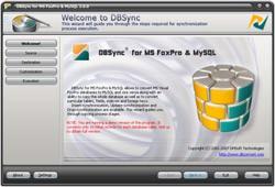 DBSync for MS FoxPro & MySQL 2.1.0 screenshot