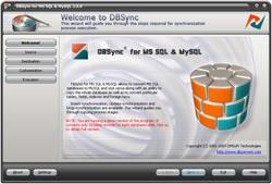 DBSync for MSSQL & MySQL 2.0 screenshot