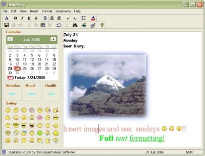 DearDiary 2.04 screenshot