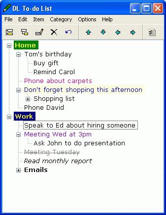 Decent Little To-do List 1.2 screenshot