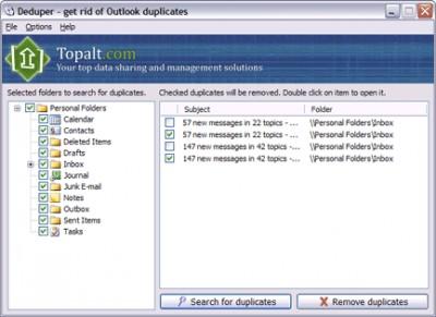 Deduper 1.1 screenshot