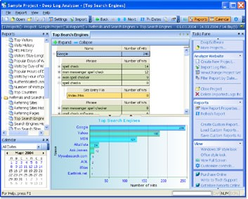 Deep Log Analyzer 7.0 screenshot