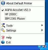 Default Printer 2.5 screenshot